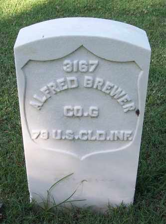 BREWER (VETERAN UNION), ALFRED - Sebastian County, Arkansas | ALFRED BREWER (VETERAN UNION) - Arkansas Gravestone Photos