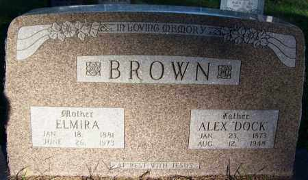 "BROWN, ALEX ""DOCK"" - Sebastian County, Arkansas 