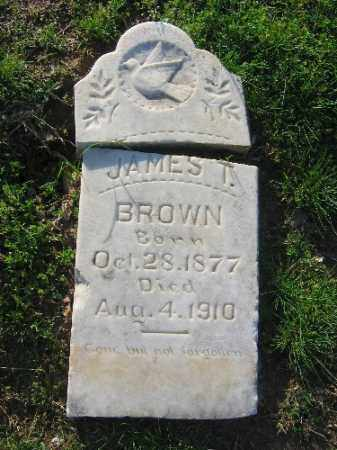 BROWN, JAMES T. - Sebastian County, Arkansas | JAMES T. BROWN - Arkansas Gravestone Photos