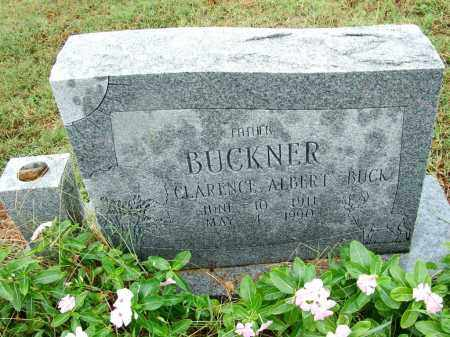 "BUCKNER, CLARENCE ALBERT ""BUCK"" - Sebastian County, Arkansas 