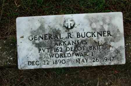 BUCKNER (VETERAN WWI), GENERAL R - Sebastian County, Arkansas | GENERAL R BUCKNER (VETERAN WWI) - Arkansas Gravestone Photos