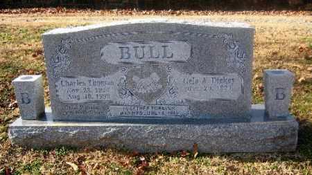 BULL, CHARLES THOMAS - Sebastian County, Arkansas | CHARLES THOMAS BULL - Arkansas Gravestone Photos