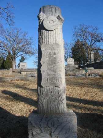 BURK, ANDREW JACKSON - Sebastian County, Arkansas | ANDREW JACKSON BURK - Arkansas Gravestone Photos