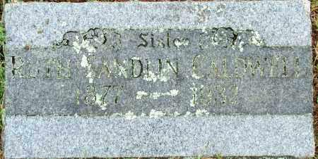 CALDWELL, RUTH SANDLIN - Sebastian County, Arkansas | RUTH SANDLIN CALDWELL - Arkansas Gravestone Photos