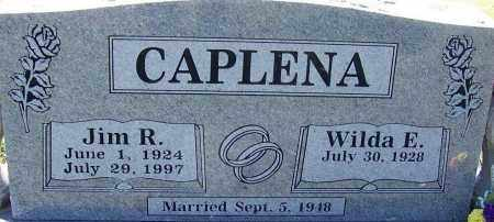 CAPLENA, JIM R - Sebastian County, Arkansas | JIM R CAPLENA - Arkansas Gravestone Photos