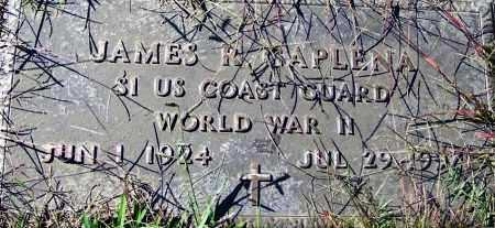 CAPLENA (VETERAN WWII), JAMES R - Sebastian County, Arkansas | JAMES R CAPLENA (VETERAN WWII) - Arkansas Gravestone Photos