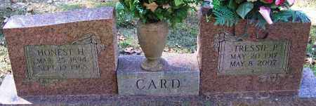 CARD, TRESSIE P - Sebastian County, Arkansas | TRESSIE P CARD - Arkansas Gravestone Photos