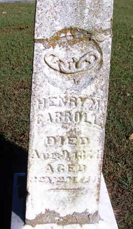 CARROLL, HENRY M. - Sebastian County, Arkansas | HENRY M. CARROLL - Arkansas Gravestone Photos