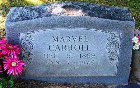 CARROLL, MARVEL - Sebastian County, Arkansas | MARVEL CARROLL - Arkansas Gravestone Photos
