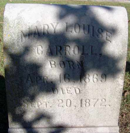 CARROLL, MARY LOUISE - Sebastian County, Arkansas | MARY LOUISE CARROLL - Arkansas Gravestone Photos