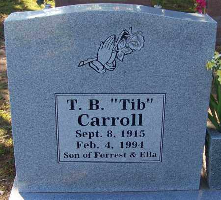 "CARROLL, T. B. ""TIB"" - Sebastian County, Arkansas 