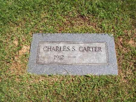CARTER, CHARLES SAMUEL - Sebastian County, Arkansas | CHARLES SAMUEL CARTER - Arkansas Gravestone Photos