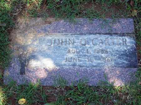 CARTER, JOHN QUINCY - Sebastian County, Arkansas | JOHN QUINCY CARTER - Arkansas Gravestone Photos