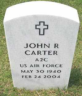 CARTER (VETERAN), JOHN RICHARD - Sebastian County, Arkansas | JOHN RICHARD CARTER (VETERAN) - Arkansas Gravestone Photos