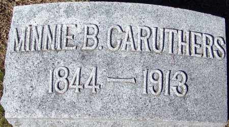 CARUTHERS, MINNIE B. - Sebastian County, Arkansas | MINNIE B. CARUTHERS - Arkansas Gravestone Photos