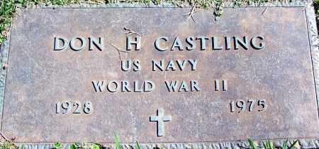 CASTLING (VETERAN WWII), DON H - Sebastian County, Arkansas | DON H CASTLING (VETERAN WWII) - Arkansas Gravestone Photos