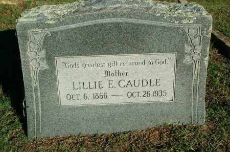 CAUDLE, LILLIE E - Sebastian County, Arkansas | LILLIE E CAUDLE - Arkansas Gravestone Photos