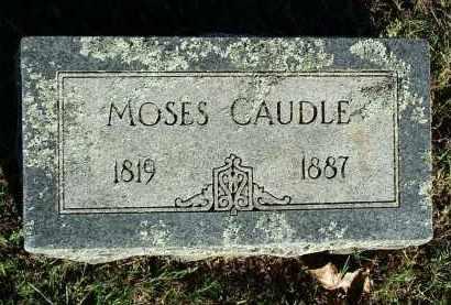 CAUDLE, MOSES - Sebastian County, Arkansas | MOSES CAUDLE - Arkansas Gravestone Photos