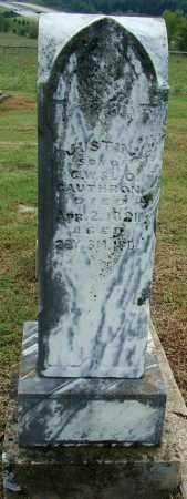 CAUTHRON, JUSTIN - Sebastian County, Arkansas | JUSTIN CAUTHRON - Arkansas Gravestone Photos