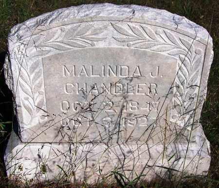 CHANDLER, MALINDA J. - Sebastian County, Arkansas | MALINDA J. CHANDLER - Arkansas Gravestone Photos