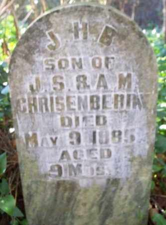 CHRISENBERRY, J. H. B. - Sebastian County, Arkansas | J. H. B. CHRISENBERRY - Arkansas Gravestone Photos