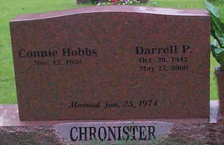 CHRONISTER, DARRELL P. - Sebastian County, Arkansas | DARRELL P. CHRONISTER - Arkansas Gravestone Photos