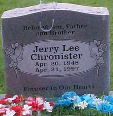 CHRONISTER, JERRY LEE - Sebastian County, Arkansas | JERRY LEE CHRONISTER - Arkansas Gravestone Photos