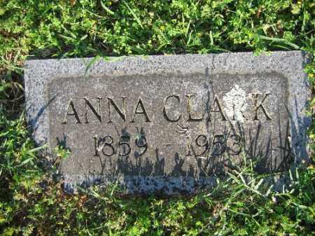 CLARK, ANNA - Sebastian County, Arkansas | ANNA CLARK - Arkansas Gravestone Photos
