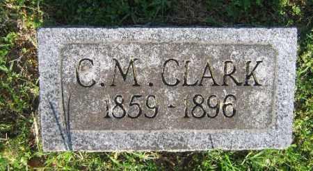 CLARK, C. M. - Sebastian County, Arkansas | C. M. CLARK - Arkansas Gravestone Photos