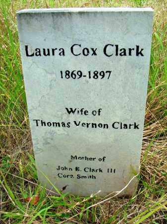 CLARK, LAURA COX - Sebastian County, Arkansas | LAURA COX CLARK - Arkansas Gravestone Photos