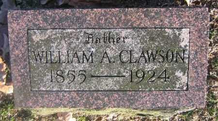 CLAWSON, WILLIAM A. - Sebastian County, Arkansas | WILLIAM A. CLAWSON - Arkansas Gravestone Photos