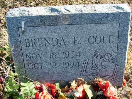 COLE, BRENDA E - Sebastian County, Arkansas | BRENDA E COLE - Arkansas Gravestone Photos