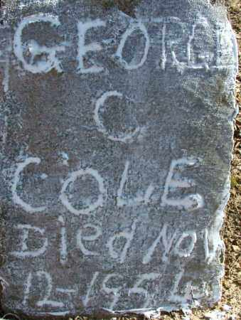 COLE, GEORGE C - Sebastian County, Arkansas | GEORGE C COLE - Arkansas Gravestone Photos