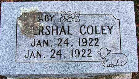 COLEY, HERSHAL - Sebastian County, Arkansas | HERSHAL COLEY - Arkansas Gravestone Photos