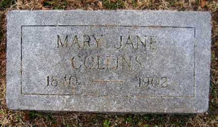 COLLINS, MARY JANE - Sebastian County, Arkansas | MARY JANE COLLINS - Arkansas Gravestone Photos