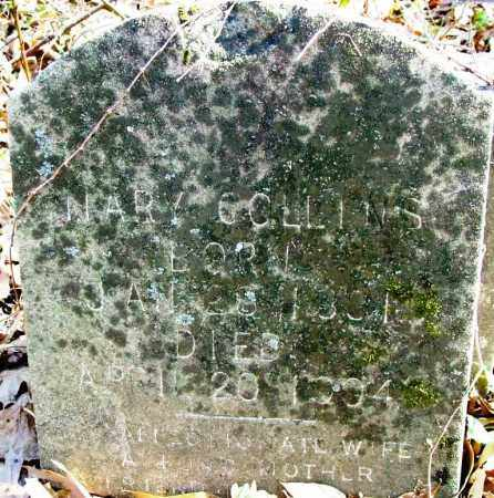 COLLINS, MARY - Sebastian County, Arkansas | MARY COLLINS - Arkansas Gravestone Photos