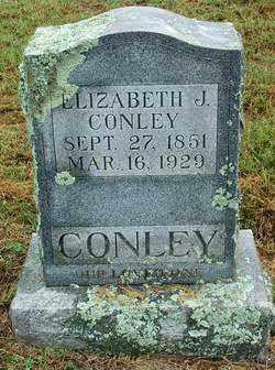CONLEY, ELIZABETH J - Sebastian County, Arkansas | ELIZABETH J CONLEY - Arkansas Gravestone Photos