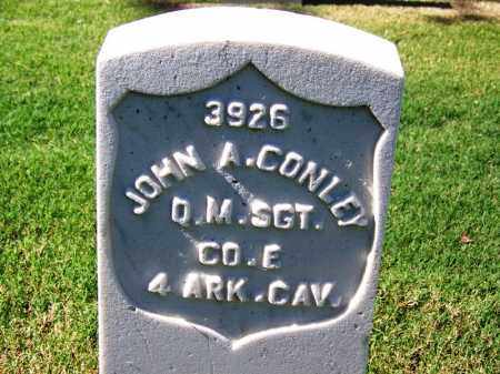 CONLEY (VETERAN UNION), JOHN A - Sebastian County, Arkansas | JOHN A CONLEY (VETERAN UNION) - Arkansas Gravestone Photos