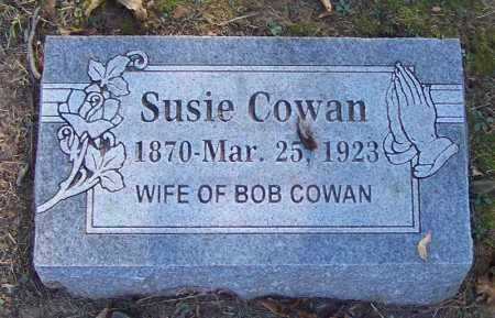 COWAN, SUSIE - Sebastian County, Arkansas | SUSIE COWAN - Arkansas Gravestone Photos