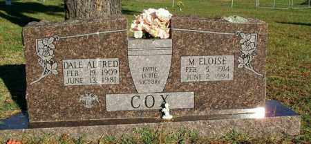 COX, M ELOISE - Sebastian County, Arkansas | M ELOISE COX - Arkansas Gravestone Photos