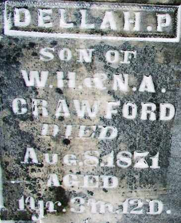 CRAWFORD, DELLAH P (2) - Sebastian County, Arkansas | DELLAH P (2) CRAWFORD - Arkansas Gravestone Photos