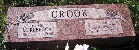 CROOK, M. REBECCA - Sebastian County, Arkansas | M. REBECCA CROOK - Arkansas Gravestone Photos