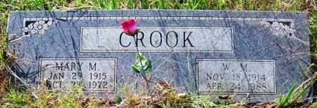 CROOK, MARY M. - Sebastian County, Arkansas | MARY M. CROOK - Arkansas Gravestone Photos