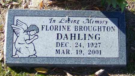 DAHLING, FLORINE - Sebastian County, Arkansas | FLORINE DAHLING - Arkansas Gravestone Photos