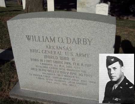 DARBY (VETERAN WWII FAMOUS), WILLIAM ORLANDO - Sebastian County, Arkansas | WILLIAM ORLANDO DARBY (VETERAN WWII FAMOUS) - Arkansas Gravestone Photos