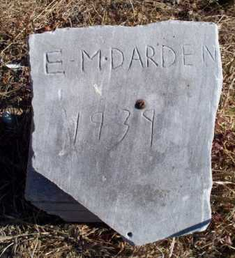 DARDEN, E M - Sebastian County, Arkansas | E M DARDEN - Arkansas Gravestone Photos