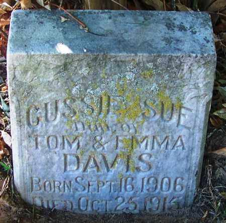 DAVIS, GUSSIE SUE - Sebastian County, Arkansas | GUSSIE SUE DAVIS - Arkansas Gravestone Photos