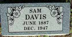 DAVIS, SAM - Sebastian County, Arkansas | SAM DAVIS - Arkansas Gravestone Photos