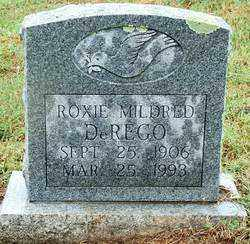 DEREGO, ROXIE MILDRED - Sebastian County, Arkansas | ROXIE MILDRED DEREGO - Arkansas Gravestone Photos