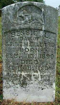 DILLARD, BESSIE L - Sebastian County, Arkansas | BESSIE L DILLARD - Arkansas Gravestone Photos